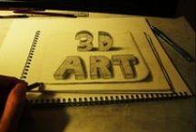 Gambar 3D / Gambar 3 Dimensi keren vrooh