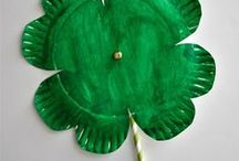 Holidays: St. Patrick's Day / All things St. Patrick's Day!  Leprechauns, pots of gold, rainbows, crafts, food, activities, learning activities, etc.