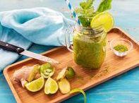 Smoothies & Limonade / Ihr sucht eine kühle Abwechslung? Dann seid ihr hier genau richtig! Wir präsentieren euch unsere Lieblings Smoothies und Limonaden für warme Sommertage.