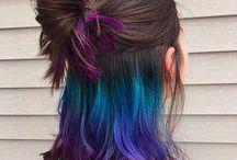 Haar Farbe❤️ / Diese Haarfarben möchte ich einmal ausprobieren! Die sind soooo schön! ❤️❤️❤️❤️