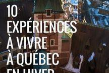 10 expériences à vivre à Québec en hiver / Retour sur nos plus belles expériences dans la plus européennes des villes nord américaines sous la forme d'un TOP 10 pour t'inspirer et te donner un maximum d'informations pratiques si toi aussi tu as envie de découvrir la ville de Québec et sa région. Et comme tu le verras dans ce TOP 10, à 30 minutes seulement du centre-ville, on peut se retrouver en pleine Nature sauvage. Incroyable ! Quelle est ton expérience préférée ?