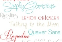 Calligraphy, Fonts, Lettering, Signs / Make your project a beautiful one! Some of the fonts are even for free!