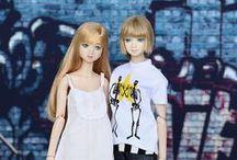 Barbie * Japanese dolls / #J-Doll #Misaki #Unoa Quluts #Amelie