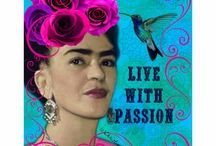 Frida's legacy / Colour on colour