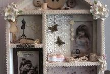 My own vintage/shabby chic creations / My favourite vintage creations