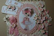 My own Bestie stamps/digi's / Creations with Bestiestamps/digi's