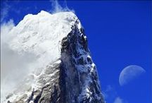 Everest / Everest region is an area in Mahalangur Himalayan range that includes mighty Mt. Everest reaching the height of 8,842m and its head reaching to touch the infinite sky. Long with the Everest this region also contains other magnificent mountains like Cho Oyu (8,153m), Lhotse (8,516m.) Nuptse (7,879m.), Makalu (8,463m.) and Ama Dablam(6,856m.).The areas around Khumbu is commonly called as the Everest Region. It is also known as the home of Sherpa people and the mysterious Yeti.