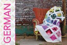 "German City Sampler QAL - Tul Pink / 100 Blöcke aus Tula Pink's Buch ""100 Modern Quilt Blocks"" QAL Start ist der 02. Juni 2014"
