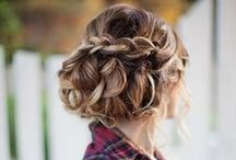 Girls and Curls / Hairdo's for girls who don't... (always take the time to do their hair )
