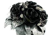 Rocking Flowers / Flower Bouquets for alternative /rocking brides