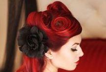 Bold Bridal Hairdos / Bridal hairdos for alternative brides