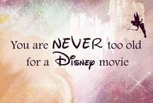 NEVER TOO OLD / Never too old for Disney or other animated movies and that's that.