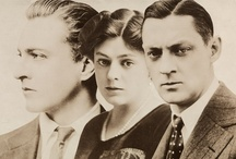Celebs: Barrymores / The famous Barrymore acting family. / by K Hoffman