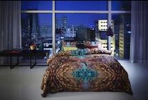 Colorful bedrooms / amazing bedsheets in bright colors gives your bedroom an entire different dimension.
