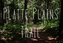 Platte Plains Trails / Trail #2 on our map and trail guide is 3.5-14.7 miles and is used as a cross-country ski trail in the winter. There are multiple trail heads. Bass Lake Loop (3.5mi): Easy Hike and ski. Otter Creek Loop (4.6 mi): Easy Hike and ski- Follows Otter Creek and Otter Lake. Flat, with pine-oak aspen forests and open meadows. Lasso Loop (6.3mi): Moderate hike, easy to advanced ski- Winds through pine-oak-aspen forests. Scenic overlooks of Lake Michigan.  / by Sleeping Bear Dunes National Lakeshore