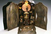 Art: Assemblage I / Schrines, altars, tins, frames, boxes...