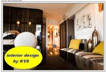 KVS....INTERIOR DESIGN.by kvs / decorated appartments in various style