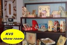 kvs-artcreations.. Show room / this is our show room with the whole collection of artcraft objects.