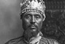 Old Ethiopia - Abyssinia / Ethiopia, known in the 18th, 19th and much of the 20th century as Abyssinia, including religious figures and pictures of Royalty.  / by Cal3b Gee