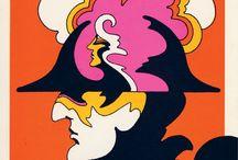 Art & Graphic Design II: 60's & Early 70's / Main Designers & Epigones