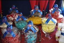 Superman Party / My Friends son had a superman theme 1st birthday and I did the decorations and sweets table