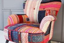 TAKE A SEAT ! / Something comfortable to sink into with a good hardback book