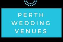 Perth Wedding Venues / Explore some of our favourite Perth wedding and event venues.