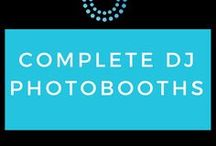 Complete DJ Photobooths / A professional photobooth adds a touch of fun to any wedding or event, and you get a wonderful selection of memories to keep.