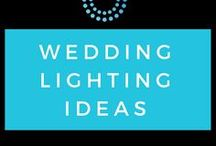 Wedding Lighting Ideas / Create a unique Atmosphere with these special lighting ideas. Festoon lighting, up-lighting and gobo lighting can create some amazing effects.