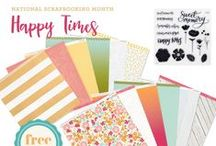 Happy Times: CTMH National Scrapbooking Month 2016 Exclusive Paper Packet