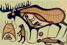Anishinabek Legends and Art / Anishinabek legends and art--pictures and websites connecting us to the folklore and artistry of the Ojibwe and Odawa people of northern Michigan, / by Sleeping Bear Dunes National Lakeshore