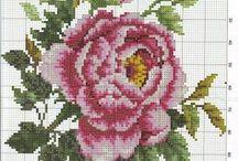 embrioidery: flowers DIY