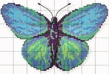embrioidery: butterfly DIY