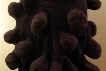 crochet sculpture/ yarn bombing/ etc / by Erika Swinson