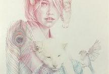 Illustrations + Print.