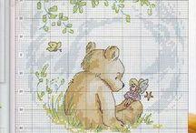embrioidery: teddy bear DIY