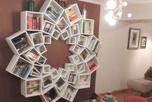Books Shelves! / Weird, wonderful and just absolutely awesome!