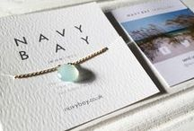 Navy Bay Jewellery / Handmade jewellery inspired by the Beach | www.navybay.co.uk