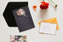 Wedding Stationery / Bespoke wedding invitations by imprintables. www.imprintables.com.au
