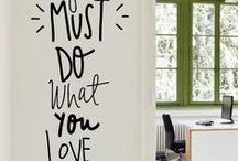 Wall Art / Art, inspiration