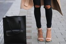 The Perfect Coat and a Bag