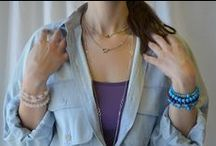 Layer Love / Layering our favorite jewelry pieces. #reeseandrose #jewelry #layer #love #style #rrlivethelife