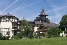 Schlosshotel Barta v době slávy / Hotel, Restaurant, Lázeňské sanatorium, Parking
