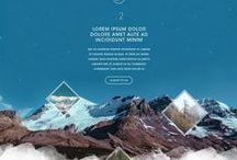Tendances graphiques / Inspirations et tendances design web et print