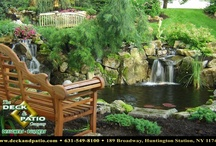 Ponds designed and built by Deck and Patio Company Long Island / Ponds designed and built on Long Island by Deck and Patio Company Huntington Station New York