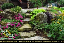 Landscaping designed and built by Deck and Patio Company Huntington Station New York / Landscaping designed and built by Deck and Patio Company Huntington Station New York