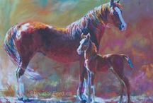 Shannon Ford Horse Paintings / Original paintings by Equine Artist Shannon Ford