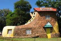 You live in a what?? / Love the creativity of these home owners / by Maria Miller-Price