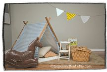 Frame tent for kids