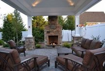 Pavilions and outdoor living structures by Deck and Patio Company